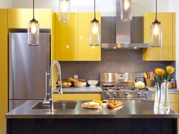 Mẫu thiết kế nội thất gỗ tủ bếp Laminate - Ảnh 01