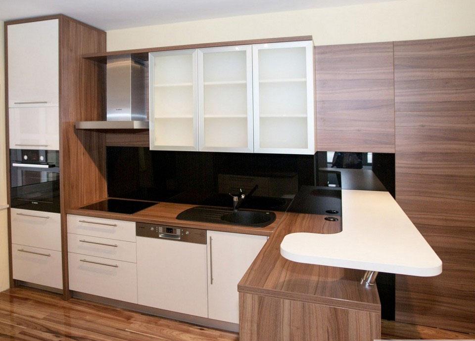 Mẫu thiết kế nội thất gỗ tủ bếp Laminate - Ảnh 02
