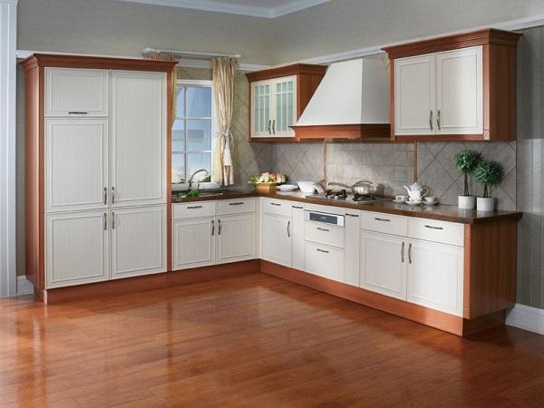 Mẫu thiết kế nội thất gỗ tủ bếp Laminate - Ảnh 04