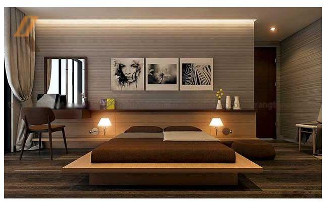 Thiết kế nội thất gỗ dành cho căn phòng ngủ- Ảnh 02