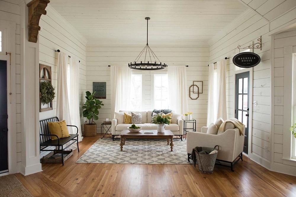 Thiết kế nội thất gỗ ốp tường cho không gian sống- Ảnh 01