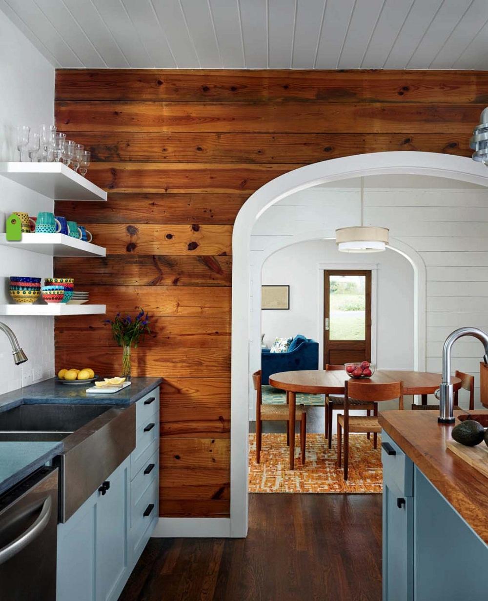 Thiết kế nội thất gỗ ốp tường cho không gian sống- Ảnh 02