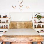 Mẫu kệ tủ bằng gỗ cho phòng ngủ tiện lợi