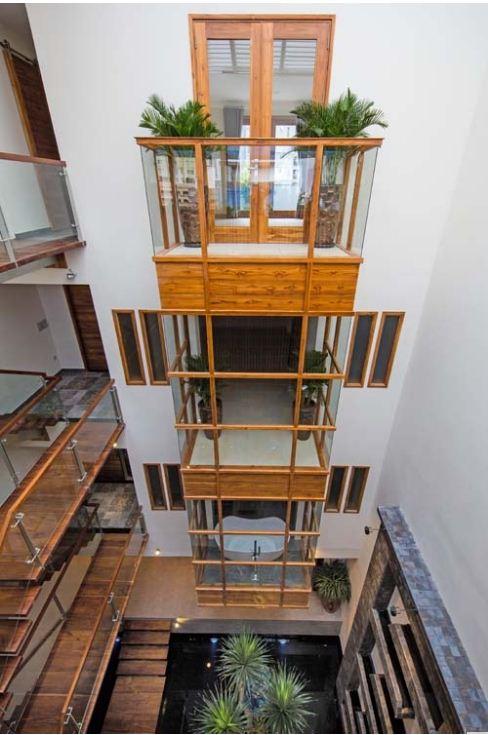 Ngôi nhà làm bằng gỗ có khả năng chống cháy