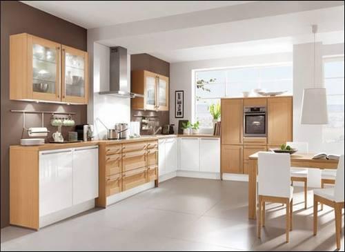 Thiết kế nội thất gỗ phòng bếp đẹp mê ly. 3
