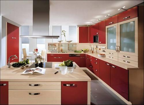 Thiết kế nội thất gỗ phòng bếp đẹp mê ly. 4