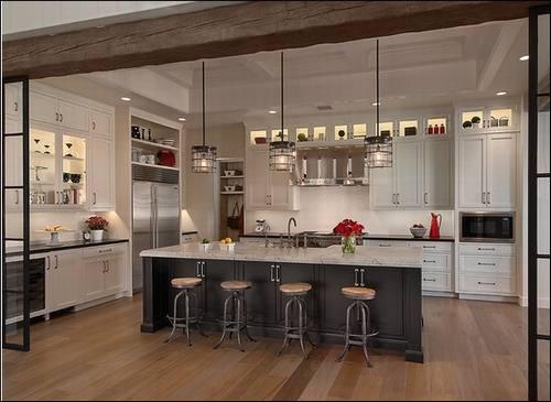 Thiết kế nội thất gỗ phòng bếp đẹp mê ly. 1