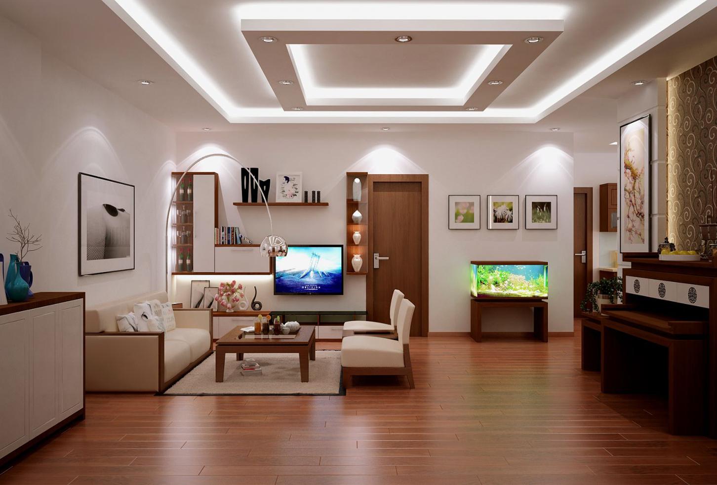 Chất liệu gỗ trong thiết kế thi công nội thất 2