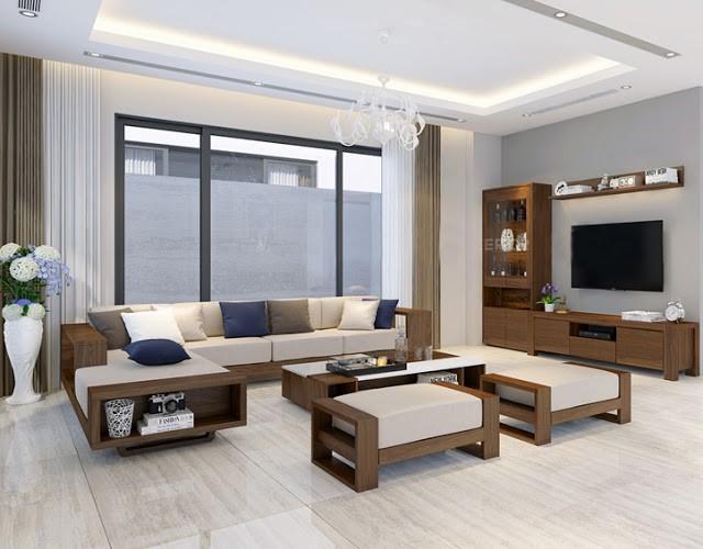 Chất liệu gỗ trong thiết kế thi công nội thất 4