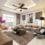 Mê mẩn thiết kế nội thất chung cư hiện đại pha chút cổ điển