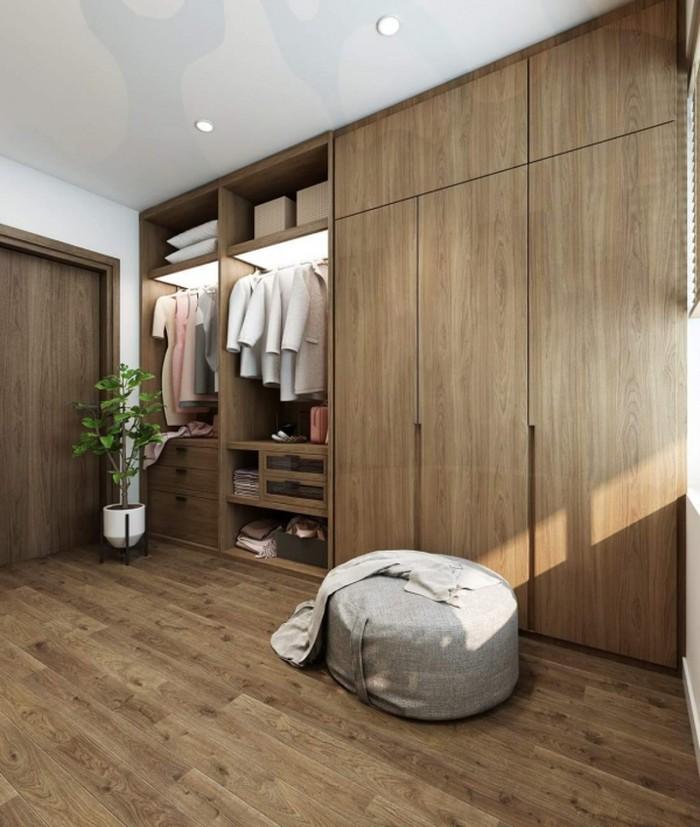 Không quá cầu kỳ nhưng tiện dụng - Thiết kế nội thất chung cư