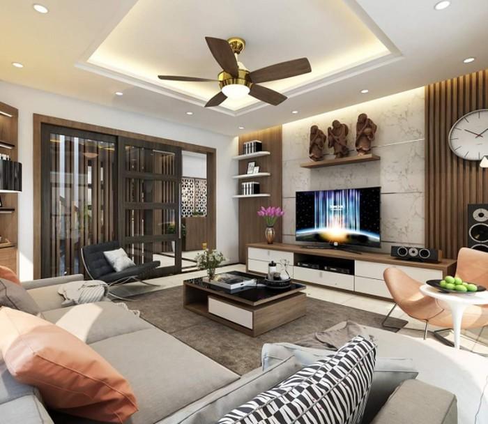 Nội thất nhẹ nhàng, đơn giản - Thiết kế nội thất chung cư