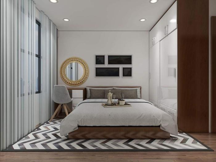 Nội thất phòng ngủ phong cách Châu Âu - Thiết kế nội thất chung cư