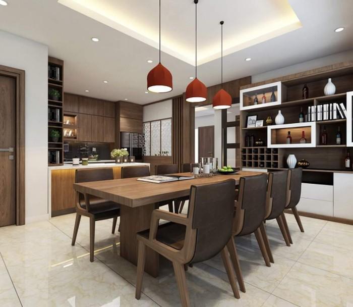 Phòng ăn gọn gàng - Thiết kế nội thất chung cư