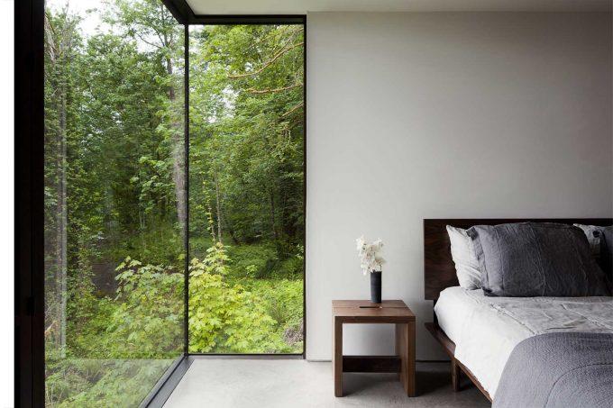 Nội thất phòng ngủ hòa hợp thiên nhiên