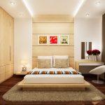 Thiết kế gỗ nội thất phòng ngủ nhà ống đẹp và tiện ích