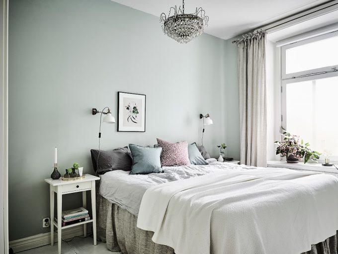 Thiết kế gỗ nội thất hai màu xám trắng ấn tượng - Phòng ngủ
