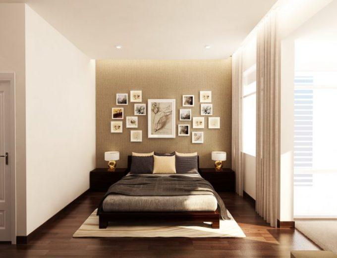 Nội thất phòng ngủ đầy nghệ thuật