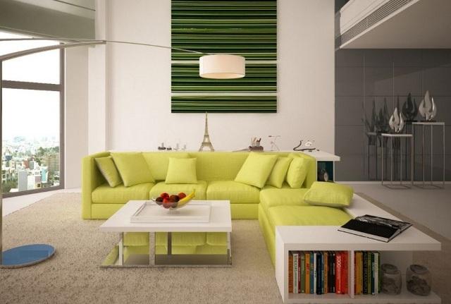 Nội thất đa năng - Sofa kết hợp kệ sách