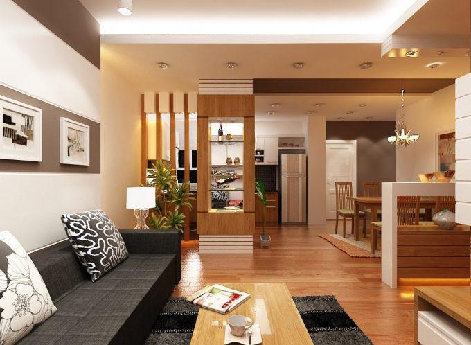Thiết kế gỗ nội thất giá rẻ cho chung cư nên chọn gỗ tự nhiên hay gỗ công nghiệp - 1