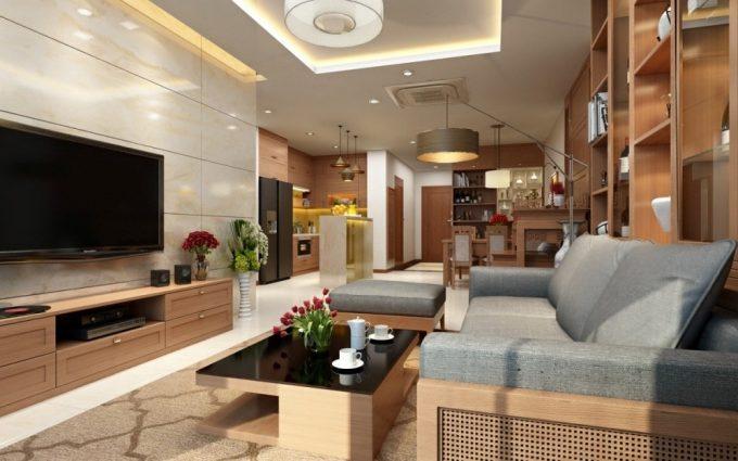 Thiết kế gỗ nội thất giá rẻ cho chung cư nên chọn gỗ tự nhiên hay gỗ công nghiệp - 2