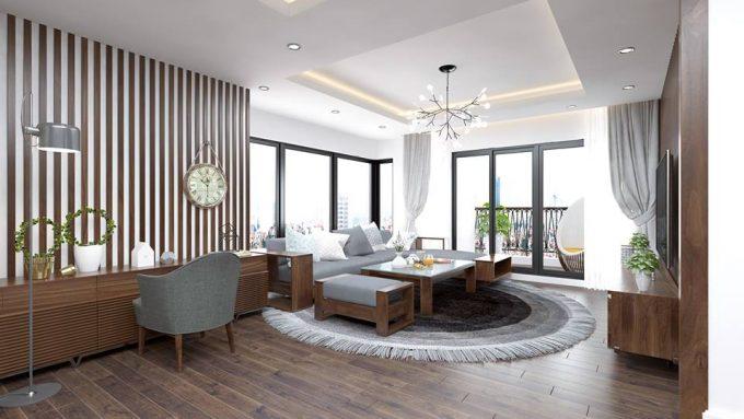 Thiết kế gỗ nội thất giá rẻ cho chung cư nên chọn gỗ tự nhiên hay gỗ công nghiệp - 3