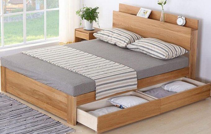Thiết kế nội thất giường gỗ 1m8 với những mẹo hay - 3