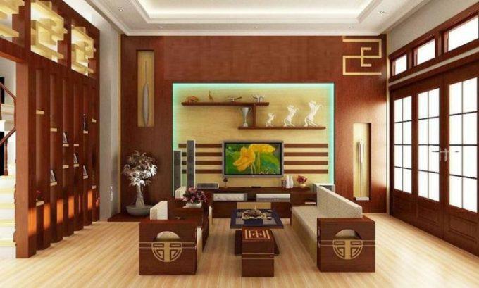 Thiết kế gỗ nội thất giá rẻ cho nhà phố hiện đại - 4