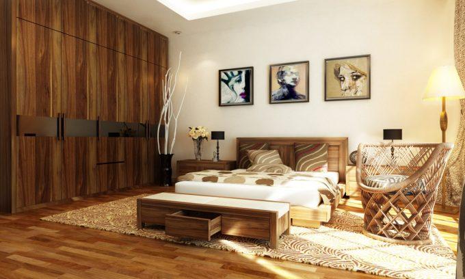Thiết kế gỗ nội thất giá rẻ cho nThiết kế gỗ nội thất giá rẻ cho nhà phố hiện đại - 5hà phố hiện đại - 5