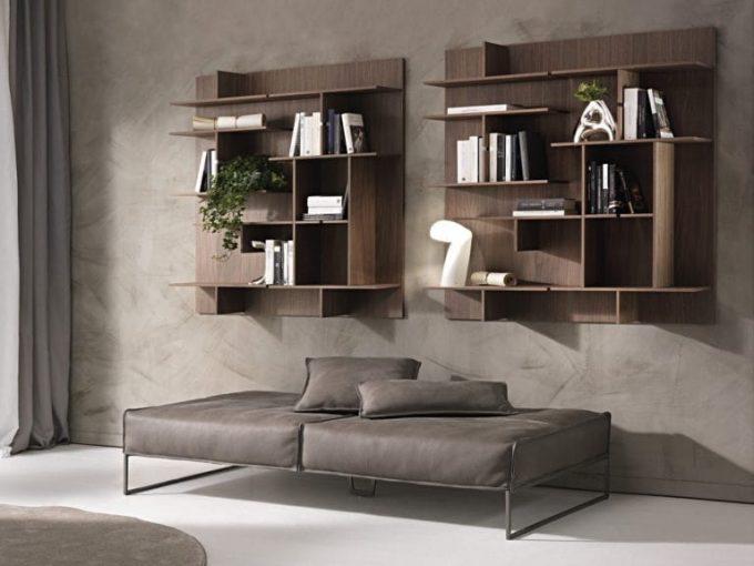 Thiết kế kệ gỗ nội thất giá rẻ treo tường cho không gian đọc sách - 1