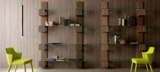 Thiết kế kệ gỗ nội thất giá rẻ treo tường cho không gian đọc sách - 4