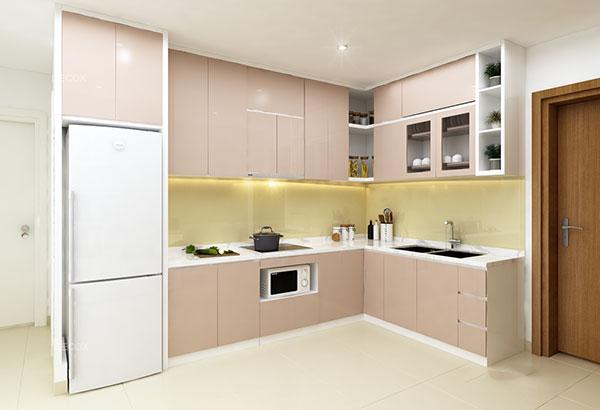 Thiết kế nội thất chung cư đẹp - Phòng bếp