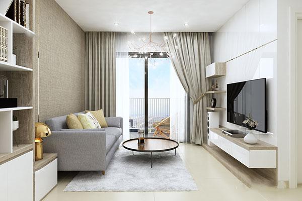 Thiết kế nội thất chung cư đẹp - Phòng khách