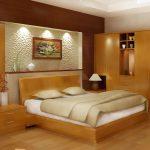 Thiết kế gỗ nội thất giường cưới 1m8 cho cặp vợ chồng trẻ
