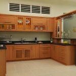 Thiết kế gỗ nội thất giá rẻ cho phòng bếp hợp phong thủy