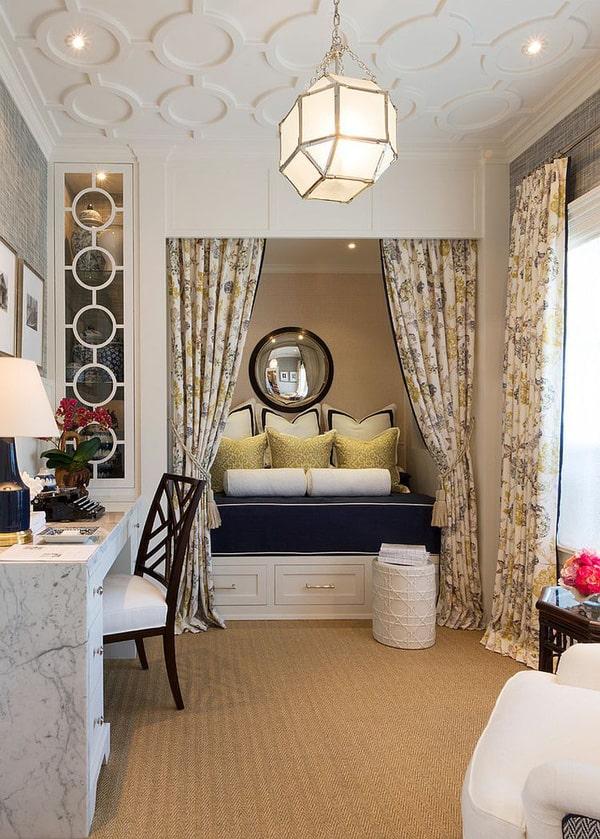 Thiết kế gỗ nội thất cho phòng ngủ kết hợp phòng làm việc - 5